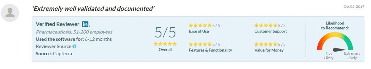 5 star validated CMMS system