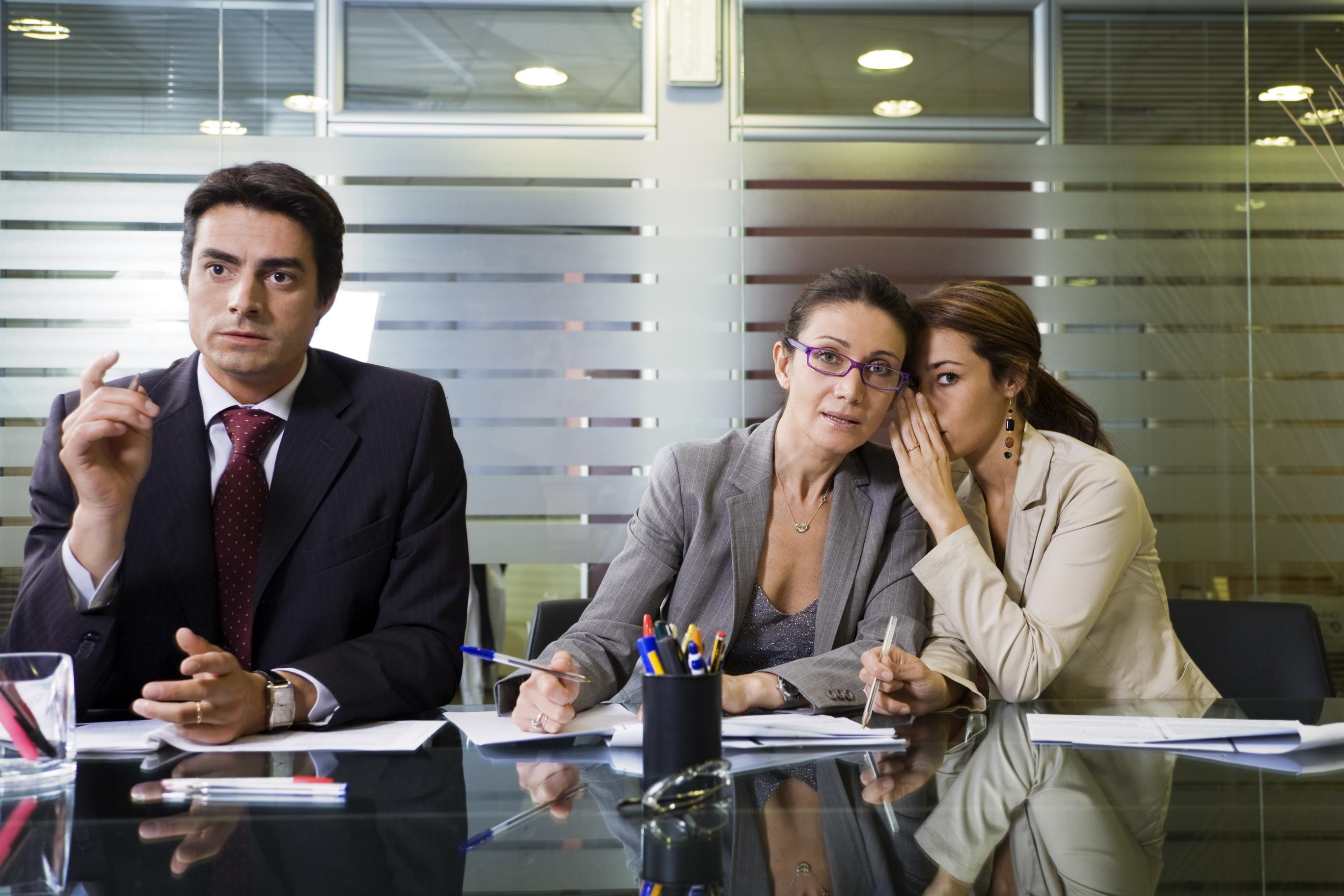 Audit Meeting During Audit